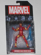 MARVEL UNIVERSE AVENGERS INFINITE HEROIC AGE IRON MAN FIGURE TONY STARK NEW HOT