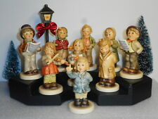Hummel Lot Of 9 Kinder Choir Collection w/2 Pce Stage & Lamppost Tmk 8 Mib