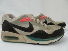 Nike Air Max Correlate Women's Shoes Size 8.5 White Black Mango 511417-136