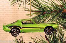 1970 CHEVY CAMARO 396 CHRISTMAS ORNAMENT Green/Black rare XMAS