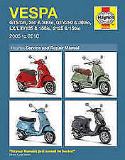 Vespa Haynes 2005 Motorcycle Repair Manuals & Literature
