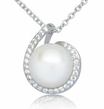 """ISAAC WESTMAN Sterling Silver Freshwater Cultured Pearl Pendant 