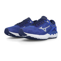 Mizuno Womens Wave Skyrise Running Shoes Trainers Sneakers - Blue Sports