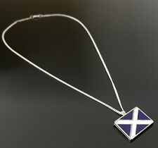 Silver Plated Yes Scotland 2019 Independence Necklace,18 Inch Made in Scotland