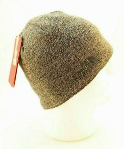 THE NORTH FACE Jim Beanie Dune Beige Color Recycled Material Beanie with Logo