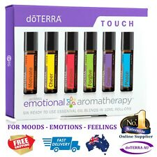 doTERRA Emotional Touch Kit 6 Rollerbottle Cheer Motivate Console Peace Forgive
