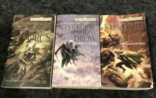 The Hunter's Blades Trilogy; Thousand Orcs; Lone Drow; Two Swords