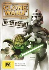 STAR WARS : CLONE WARS LOST MISSIONS - SEASON 6 -  DVD - UK Compatible