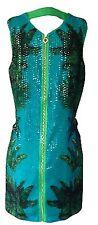 Versace Polyester Sleeveless Dresses for Women