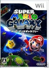 Used Wii Super Mario Galaxy Nintendo JAPAN JP JAPANESE JAPONAIS IMPORT