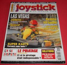 Magazine Joystick [n°57 Fév 95] Amiga 1200 PC Heretic Super Karts JRF