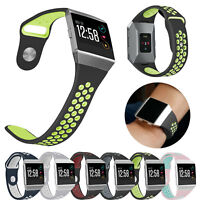 Sport Breathable Silicone Watch Band Strap Wristband Bracelet For Fitbit Ionic