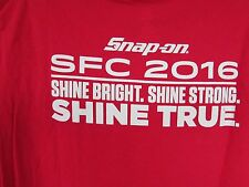 New Snap-On Tools SFC 2016 CONVENTION T-Shirt LIMITED EDITION!!! COLLECTORS!L@@K