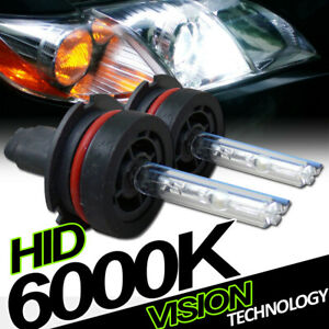 6000K Hid Xenon 9004/Hb1 Low Beam Headlights Headlamps Bulbs Conversion Kit Vd4