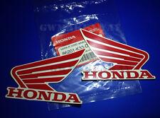 Honda Logo Sticker Mark Wing Decals Cbr 125 150 250 300 600 900 1000 Cb NSR Red