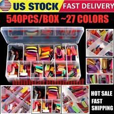 540 Artificial Nails French False Half Nail Art Tips Acrylic Nail Gel Mix Color