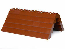 LEGO ROOF 5x12x16 # BROWN # 100 pieces Slopes Tiles 1x2 2x2 # NEW #