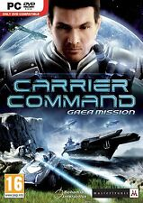 Carrier Command: Gaea Mission (PC DVD) BRAND NEW SEALED