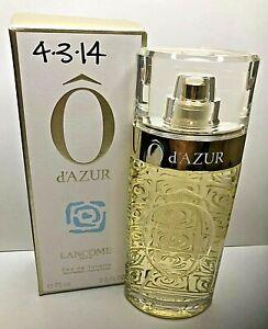 LANCOME O d'AZUR, EAU DE TOILETTE , 2.5 FL OZ, NEW IN BOX