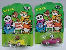 "Vintage Ertl ""Shirt Tales"" Diecast Car 1982 Sealed Bogey Orangutan & Pammy Panda"