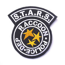 Resident Evil S.T.A.R.S. Raccoon Police Dept Tactical Morale Biker Hook Patch