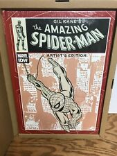 """Marvel IDW Gil Kane's THE AMAZING SPIDER-MAN Artist's Edition 17"""" HC Book"""