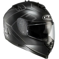 HJC IS-17 Lank Black Full Face Motorcycle Helmet - Free Pinlock