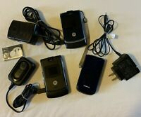 Cell Phone Lot Motorola Nokia Chargers Battery PARTS ONLY