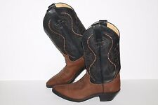 Justin Coffee Westerner Boots, #4956-70693, Brown/Black,  Leather, Women's 6
