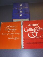 Calligraphy Lot Reader's Digest Calligraphy set and 2 Work Manuals