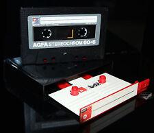 AGFA Gevaert Stereochrom 60 + 6 aus 1979 in BASF C-Box MC Kassette tape cassette