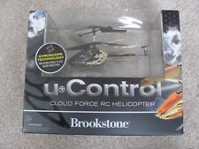 Brand New Brookstone u Control Cloud Force RC Helicopter 651430