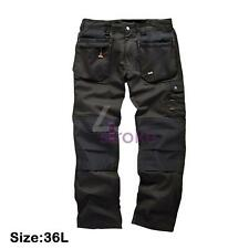 Scruffs Worker Plus Pantaloni Combat Cargo Lavoro Pantaloni commercio PRO VINTAGE Cintura Gratis