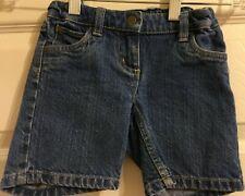 Hanna Andersson Denim Shorts Girls Size 100 4