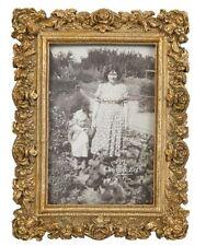 Clayre & Eef Bilderrahmen 10x15 cm Fotorahmen Bild nostalgisch Rahmen gold 52041