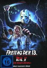 Mediabook FREITAG DER 13. TEIL 5 V EIN NEUER ANFANG Jason BLU-RAY Cover D