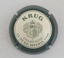 capsule champagne KRUG petit K blason n°56b clos du mesnil 1999 32mm