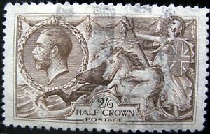 GREAT BRITAIN - Sc #179a – 2sh/6p – PALE BROWN – 1913 – PF CERTIFIED - AUG