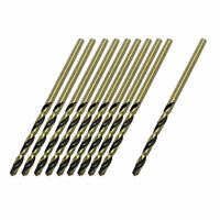 10 x Straight Shank 1.1mm Diameter Drilling Hole HSS Twist Drill Bit