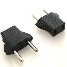 110V-220V USA to Italy Travel Adapter Power Socket Plug Converter Convertor 2pcs