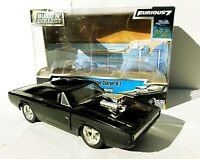 1:24 Build N Collect Fast & Furious 7 Doms Dodge Charger R/T Diecast Car By Jada