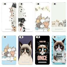 Cases For Xiaomi Mi 4C 4I Soft TPU Silicone Protective Back Covers Cats Party
