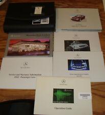 2002 Mercedes Benz C Class Owners Operators Manual Kit 02 C 240 320 32 AMG