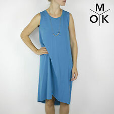 COS Sommer Cocktail Abend Kleid Luxus S/36 Türkies Design Dress (1468)