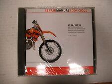 KTM SERVICE MANUAL CD 85 SX 105 SX 2004-2005