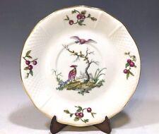 L. Bernardaud & Co. Limoges France Under Cream Soup Bowl Plate -Birds/Cherries