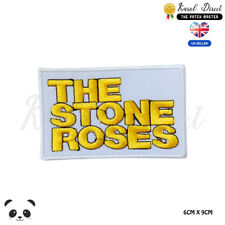 The Stone Roses Music Band Embroidered Iron On Sew On PatchBadge