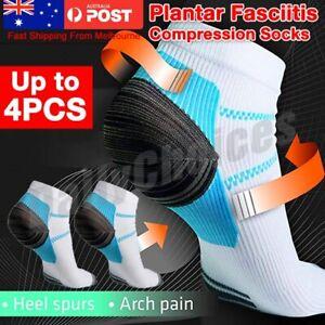 AU Plantar Fasciitis Foot Pain Relief Sleeves Heel Ankle Sox Compression Socks