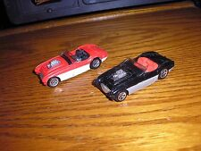 Nice Lot of 2 Different Vintage Hot Wheels Austin Healey Roadsters Free Shipping