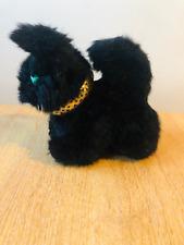 Handmade Black Cat Cuddly Plush Soft Toy - Fast Dispatch